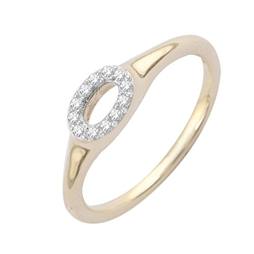 Pave Prive - Bague - Or jaune - Diamant - JR015414903