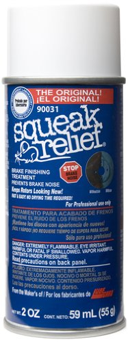 Lubegard 90031 Squeak Relief Brake Finishing Treatment, 2 oz.