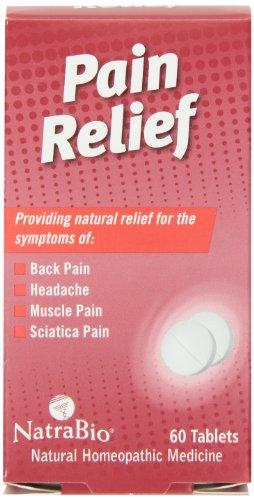 60 Bio Tabs Natra (Natrabio Pain Relief Tablets, 60 Count)
