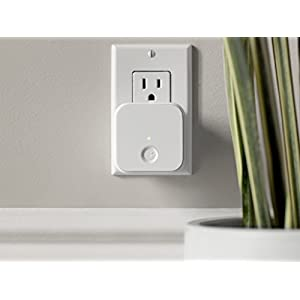 August Home AC-R1 August Connect Wi-Fi Bridge, 1.5 x 2.4 x 2.4, White