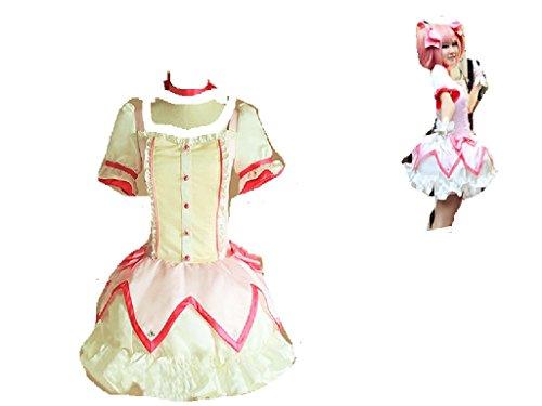 [Puella Magi Madoka Magica Kaname Madoka cosplay costume] (Puella Magi Madoka Magica Madoka Kaname Cosplay Costume)