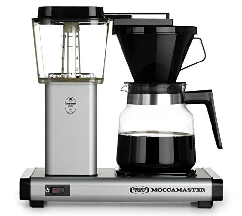 Technivorm Drip Coffee Maker - Technivorm Moccamaster Model K Model K Mixer, Matte Silver, 40 oz