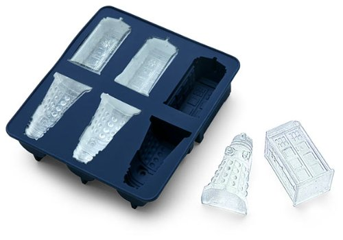 Doctor Who Silicone Ice Cube Tray