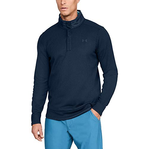 Under Armour Men's Storm SweaterFleece Snap Mock, Academy//Academy, 3X-Large Tall