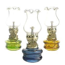 """Purism Style- 4"""" Height Glass Kerosene Oil La"""