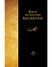 Biblia de estudio MacArthur Reina Valera 1960, Tapa Dura, Café / Spanish MacArthur Study Bible Reina Valera 1960, Hardcover, Brown