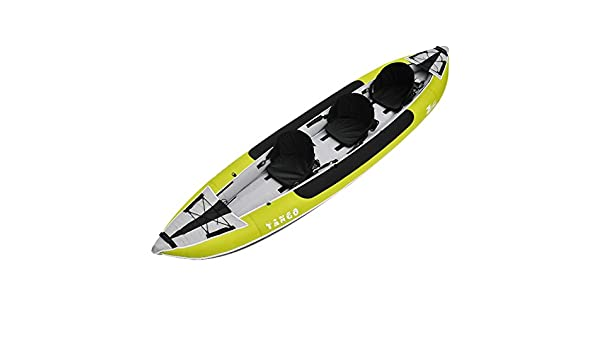 Z-Pro Tango 3 Inflatable Kayak Green - 2 or 3 Person Kayak ...
