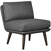 Elle Decor UPH10027A Sophie Accent Chair, Gray