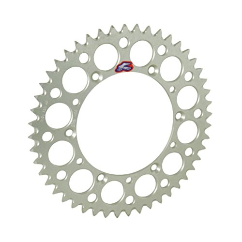 Renthal Rear Sprocket 42 Tooth Silver - Fits: Honda CRF250L 2013-2018 ()