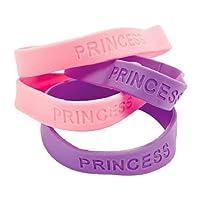 12 Pulseras Princesa De Goma
