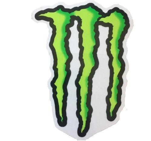 monster energy decal for car - 7
