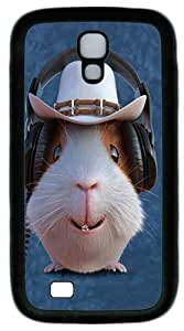 Cool Painting Samsung Galaxy I9500 Case and Cover -Children's Guinea Pig Cowboy Custom PC Soft Case Cover Protector for Samsung Galaxy S4/I9500
