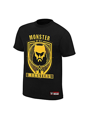 WWE Braun Strowman Monster of All Monsters T-Shirt Black Medium by WWE Authentic Wear