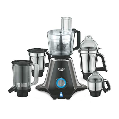 Mixer Grinder with 5 Jars-Preethi -Zodiac MG 218