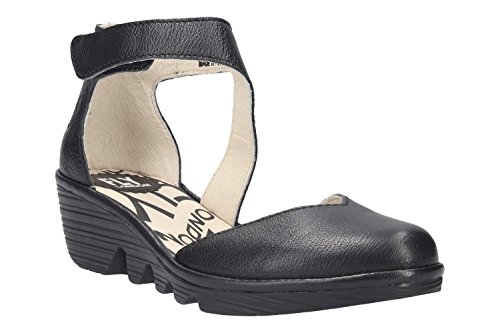 FLY London Shoes P500801006 Black outlet 2015 new T5h6NbcRj8