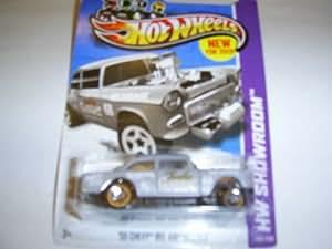"""Hot Wheels HW Showroom '55 Chevy Bel Air Gasser """"Tuske"""" 190/250 2013"""