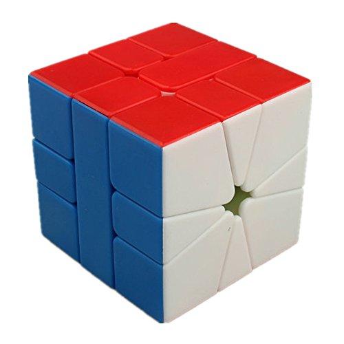 CuberSpeed QiYi Square-1 Stickerless Magic cube MoFangGe MFG SQ-1 speed cube puzzle