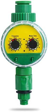 Godyluck- Bewässerungswasser-Timer-Controller Garden Elektronisch programmierbarer automatischer Bewässerungs-Timer Wasserdichter Wasserhahn zum Schlauch-Timer für Outdoor-Parterre