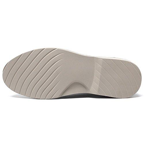 Le Mens Scarpe Scarpe Alti 6 da Scarpe Ginnastica 7 cm aumentanti CHAMARIPA Altezza Ascensore 5 Fino Fanno da Scarpe Ti Grigio t4wvcqp