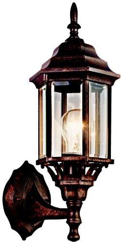 Kichler 49255TZ Chesapeake Outdoor Wall 1-Light, Tannery Bronze