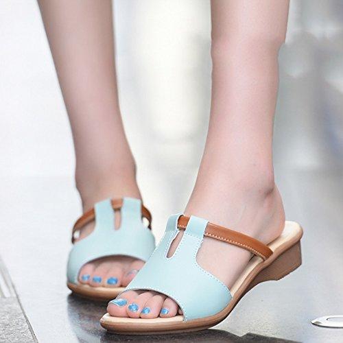 i portano colori facoltativo E Le estive pattini EU36 di i piani 6 Pantofole donne B Donna freddi dei Pattini Colore sandali dimensioni formato femminile pistoni facoltativi trascinando modo WIxZqH