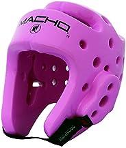 Macho Dyna Headgear for TKD Karate (Pink. Medium)
