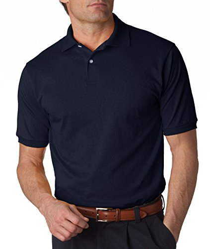 jerzees-50-50-mens-56-oz-jersey-polo-with-spotshield-j-navy-large