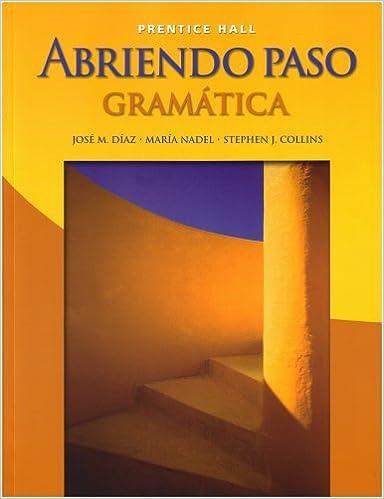 Amazon abriendo paso gramatica student edition 9780131661318 abriendo paso gramatica student edition student edition fandeluxe Image collections