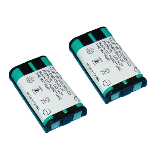 Panasonic KX-TG5633 Cordless Phone Battery Combo-Pack includes: 2 x BATT-104 Batteries Synergy Digital AK-62924