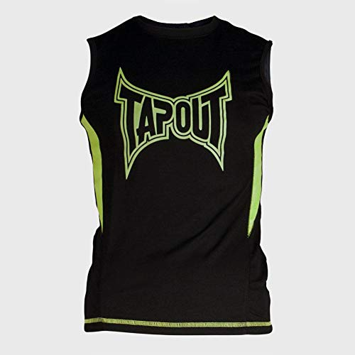 b5e2fbae TapouT Men's Legacy Muscle Tank, Lime Light, Medium