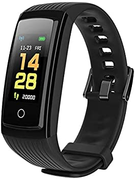 Erholi Color Screen Smart Bracelet Heart Rate Fitness Monitor