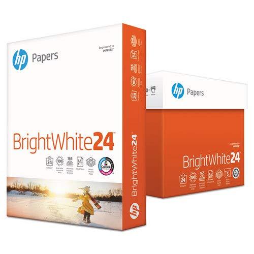 Bright White Inkjet Paper Letter - HP Bright White Ink Jet Paper - Letter - 8.5