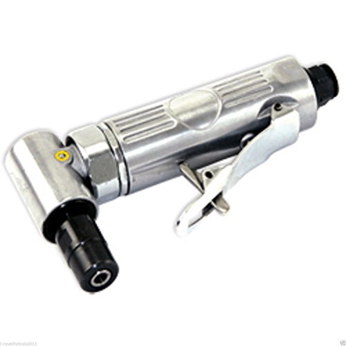 Air Pneumatic Right Angle Die Grinder Polisher Cleaning 1/4