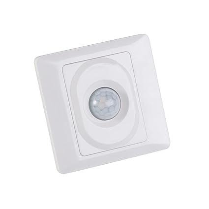 Homyl Interruptor de Sensor de Movimiento Infrarrojo Fácil de Instalación