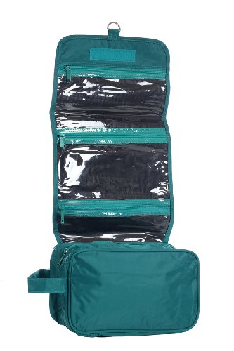 Hanging Toiletry Cosmetics Travel Teal