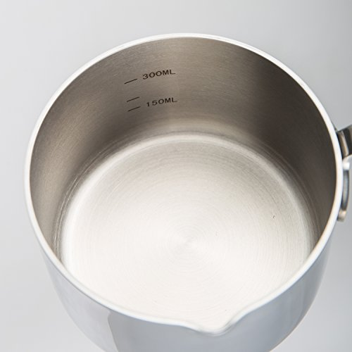 aooyaoo turkish coffee pot stainless steel Butter milk Warmer pot 0.45-Quart Mimi size by Aooyaoo (Image #4)