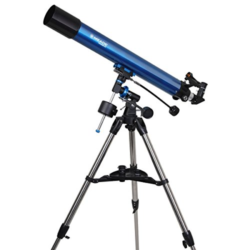 Meade Instruments 216002 Polaris 80 EQ Refractor Telescope (Blue) by Meade