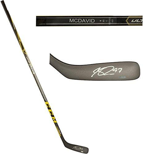 - Connor McDavid Edmonton Oilers Autographed CCM Ultra Tacks Game Model Hockey Stick - Upper Deck - Fanatics Authentic Certified