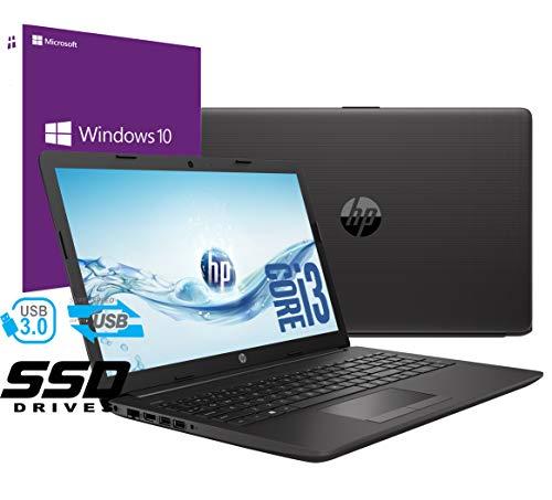 Ordenador portátil HP 250 G7, pantalla de 15,6 pulgadas, CPU, Intel Core i3-7020U, 2,3 GHz, RAM de 8 GB, DDR4, HD SSD de…