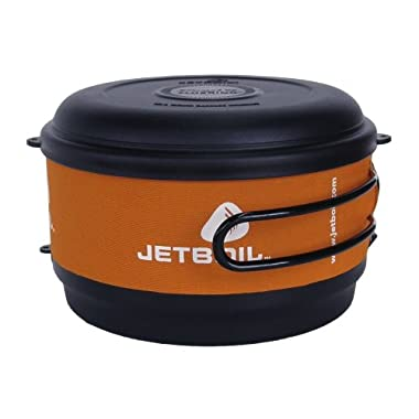 Jetboil 1.5 Liter FluxRing Cooking Pot Orange, One Size