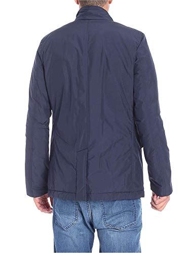 Blue Jacket Piumino In Imbottitura Uomo Blz Woolrich Con City 6PxqE618