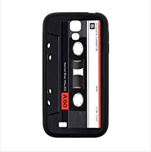 Best Seller Case - Classical CD Magnetic Tape Pattern Samsung Galaxy S4 I9500 TPU (Laser Technology) Case, Cell Phone Cover