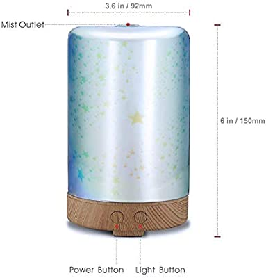 Huertuer 857/5000 Humidificador casero, Creativo 3D Humidificador ...