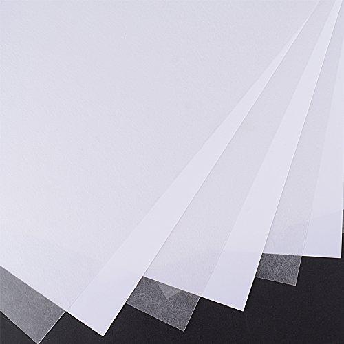 10 Feuilles A4 Plastique Thermorétractable Imprimable Papier Shrink Paper pour Fabriquer Porte-clé, Pendentifs, Loirsir Creatif (29mm x 20mm x 0.3mm)