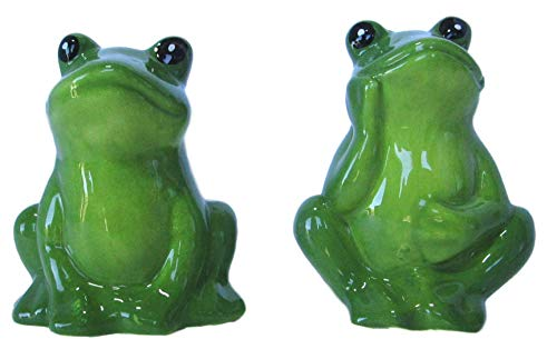 - American Atelier Frog Salt and Pepper Shakers