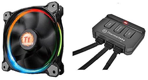 3 opinioni per Thermaltake Riing Ventole per Case, 14 LED, Multicolore