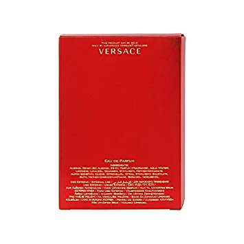Versace Versace eros flame for men eau de parfume spray, 3.4 Ounce, Red