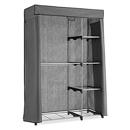 Whitmor Deluxe Utility Closet   5 Extra Strong Shelves   Removable Cover