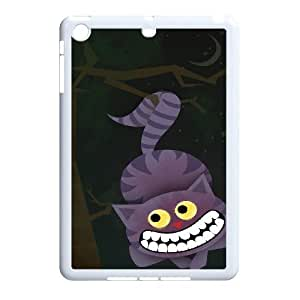 K-G-X Phone case For Ipad Mini 2 Case Case-Pattern-6 Alice and Cheshire Cat Pattern Protective Back Case