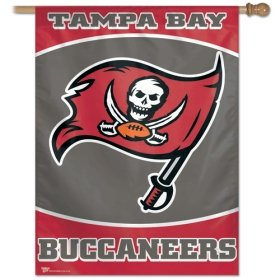 Wincraft Tampa Bay Buccaneers 27x37 Vertical Flag - Tampa Bay Bucanneers One Size (Tampa Bay Buccaneers Wall Pennant)
